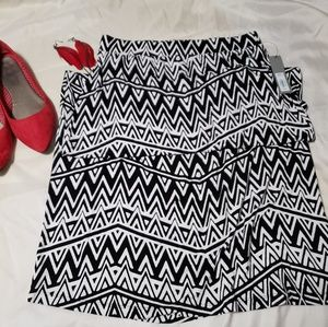 Apt. 9 Geometric print skirt